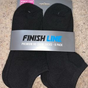 Finish Line Premium No Show Socks